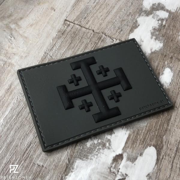 Jerusalem Kreuz (vers. Farben)