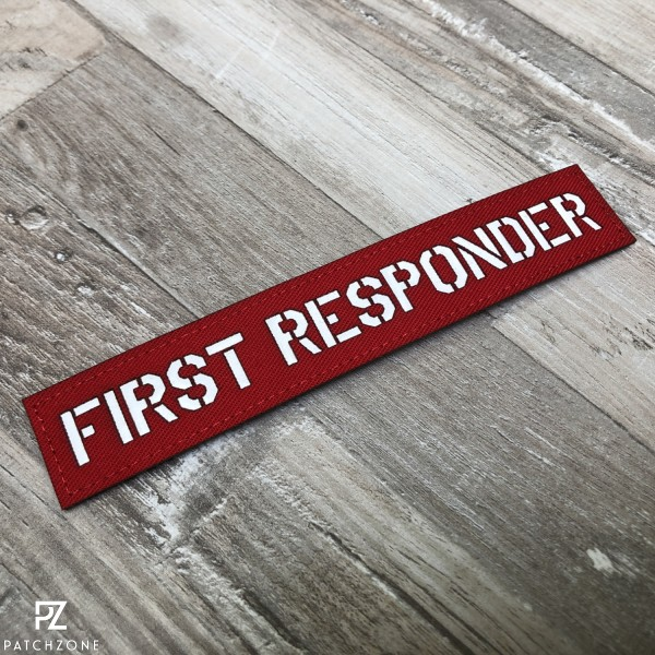 Namensschild First Responder