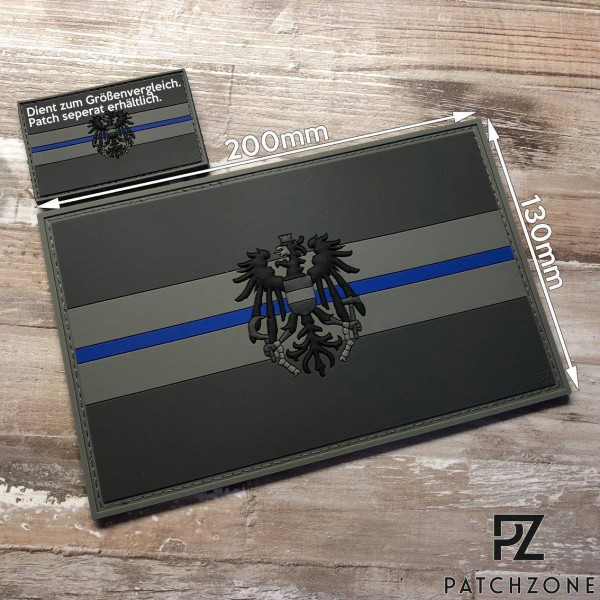 Thin Blue Line XL Schild