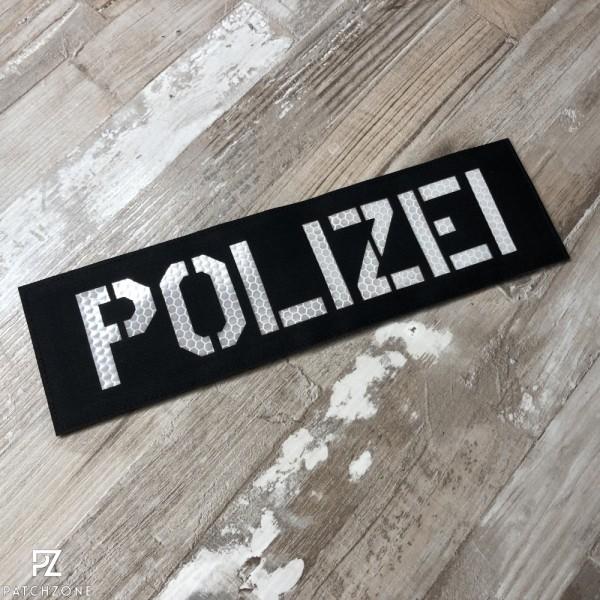 Polizei Rückenschild