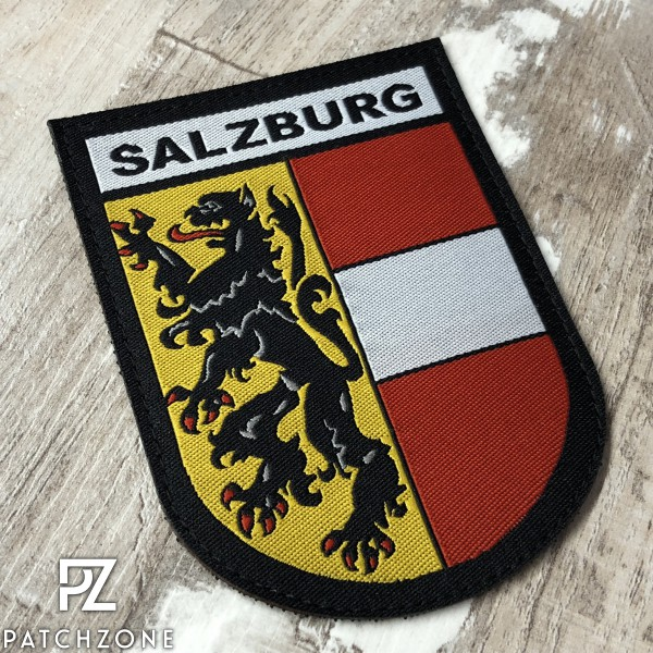 Bundesland Salzburg (vers. Farben)