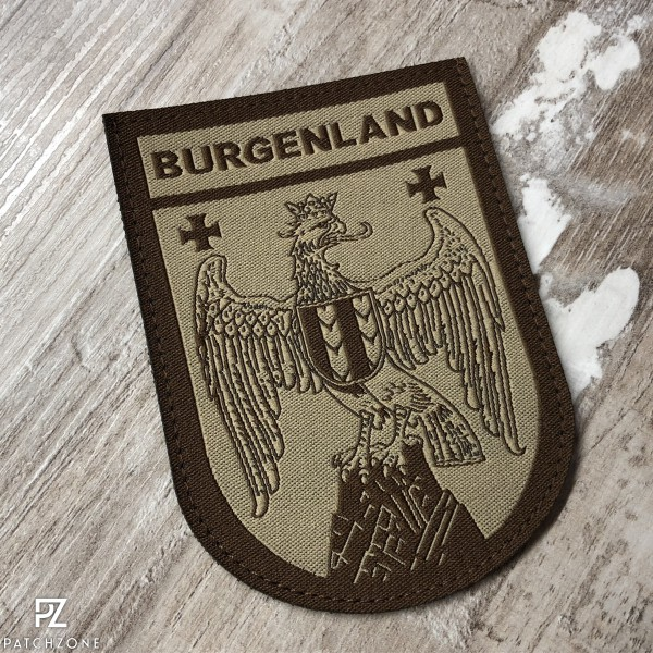 Bundesland Burgenland (vers. Farben)
