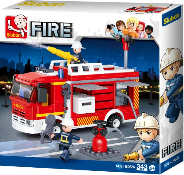 Feuerwehr Löschfahrzeug