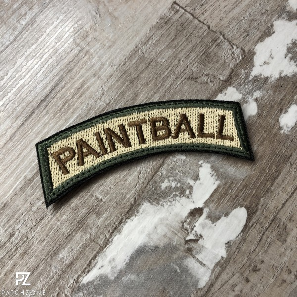 Paintball Tab Patch