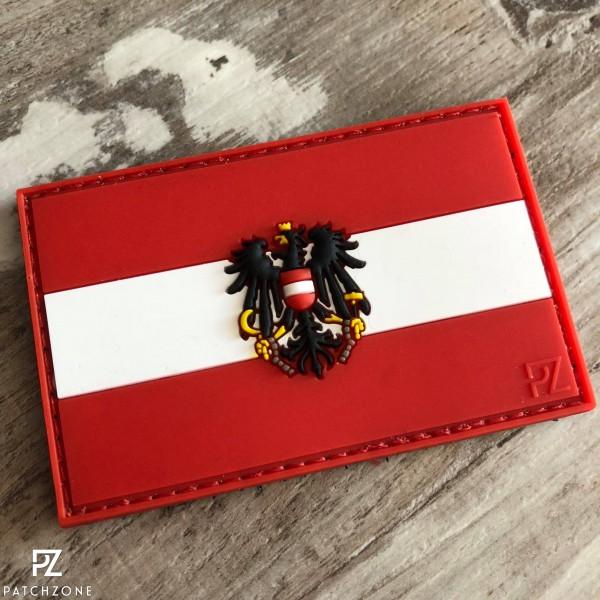 Österreich Fahne Rot B Ware