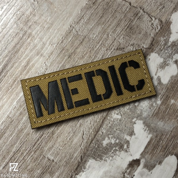 Medic Schriftzug (vers. Farben)